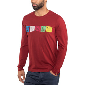 Sherpa M's Tarcho LS Tee Potala Red